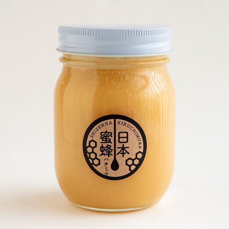樋口さんの日本蜜蜂ハチミツ(非加熱) 500g