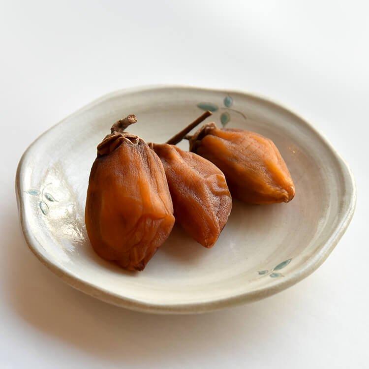 樋口さんの無燻蒸あんぽ柿 3個入【冷凍】