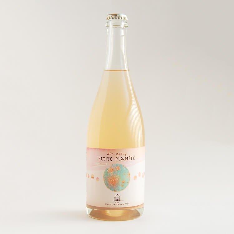 【酸化防止剤無添加】自然派ワイン(日本ワイン) 香月ワインズ/2020 PETITTE PLANETE(ぷてぃ ぷらねっと) 750ml