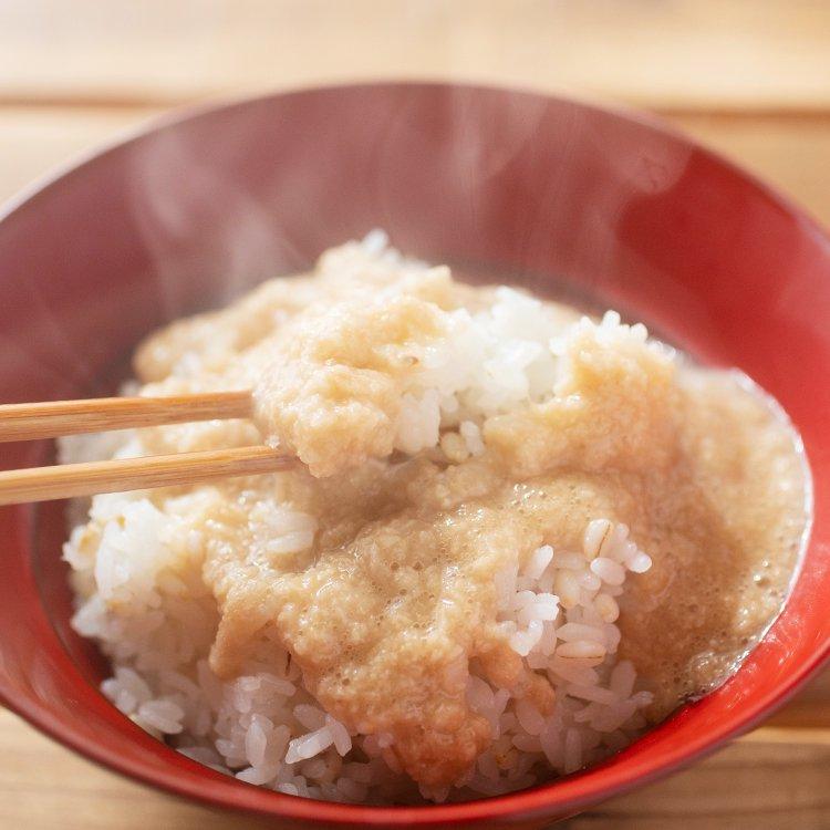 玄米天狗みそと自然薯のぶっかけとろろ100g【冷凍】