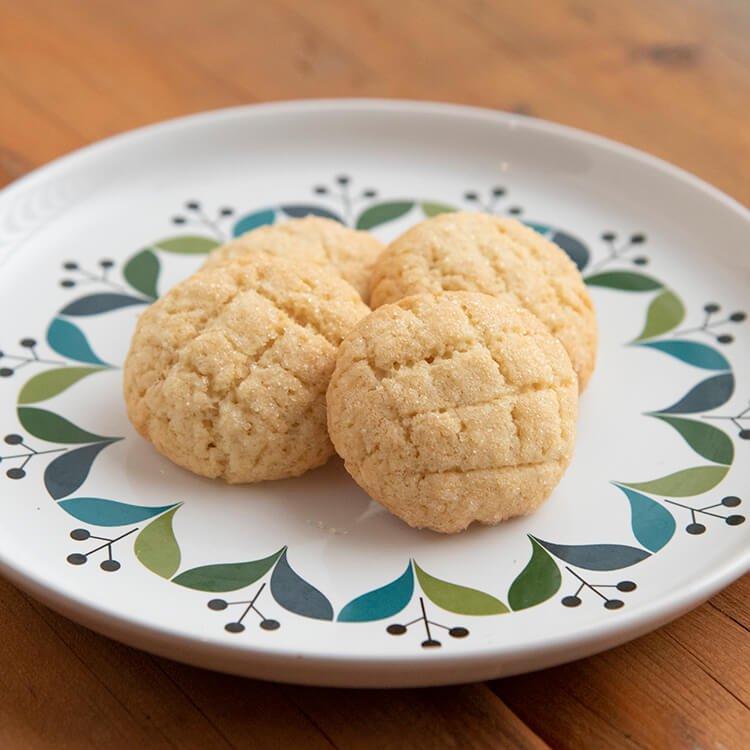 きくち村のメロンパンクッキー 4個