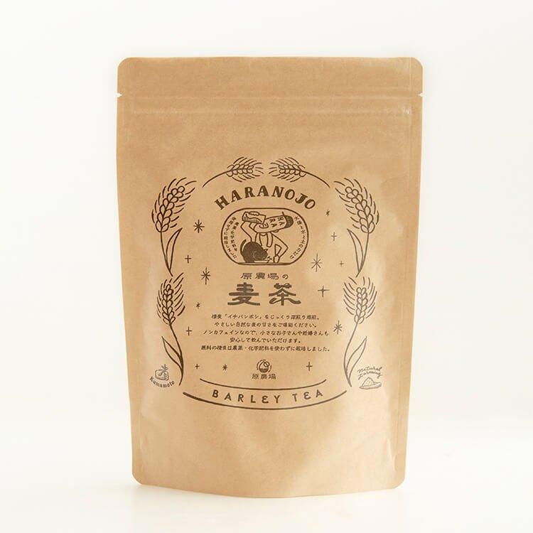 原農場の水出し麦茶(ティーパックタイプ)120g(10g×12パック)