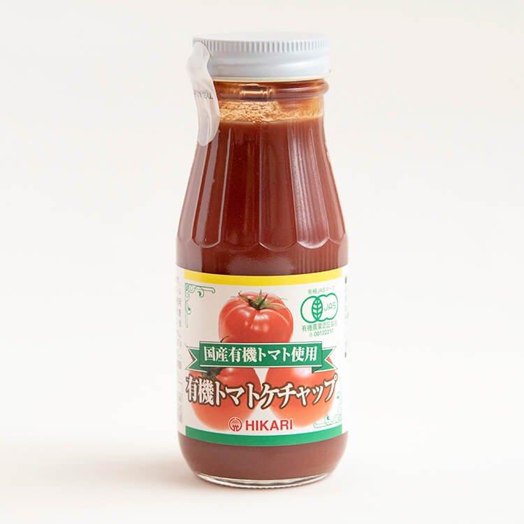 ヒカリ 有機トマトケチャップ(瓶) 200g