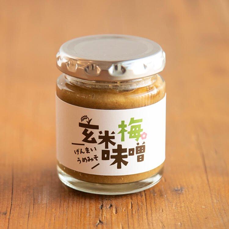 きくち村の玄米梅味噌 100g【冷蔵】