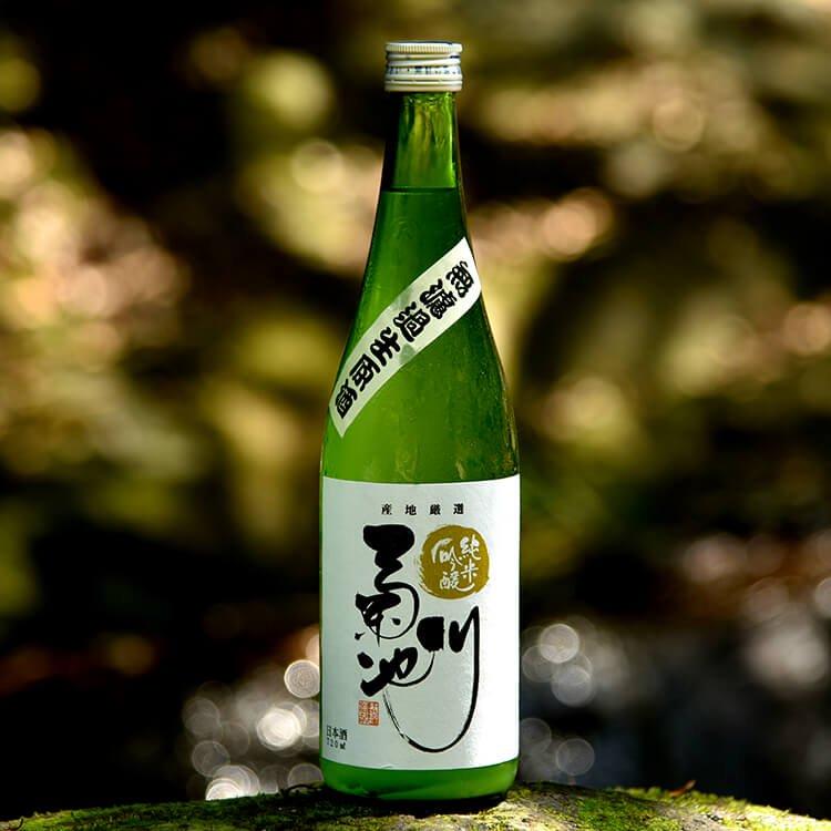 無濾過生原酒 純米吟醸「菊池川」 槽(ふね )しぼり 720ml