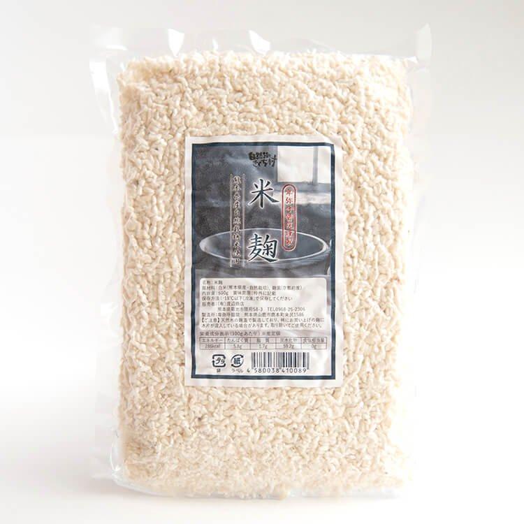 """卑弥呼醤院の""""米麹"""" 500g(熊本県産・自然栽培米使用)"""