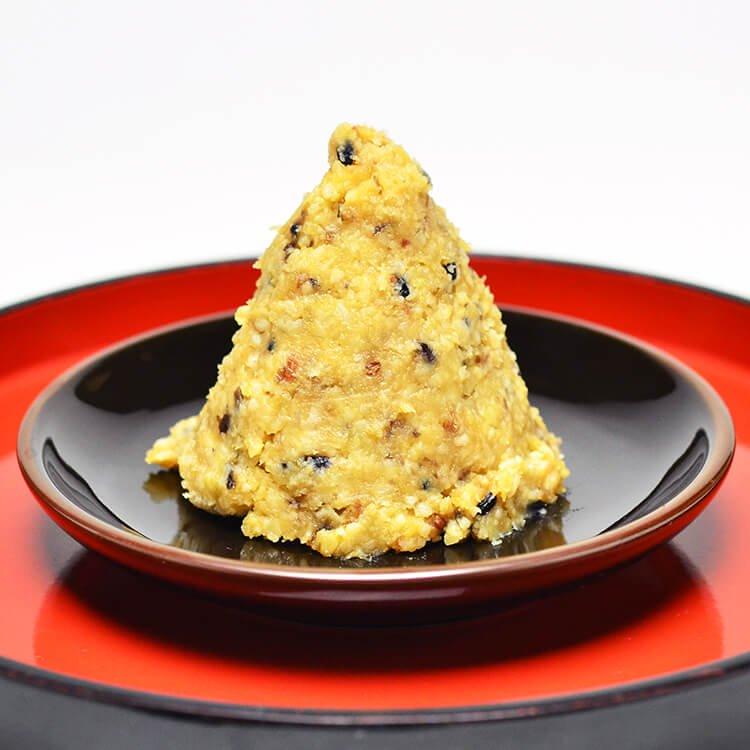 味噌八 700g(八穀みそ/自然栽培原料)※きくち村オリジナル