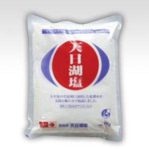 天日湖塩(てんぴこえん)1kg ※モンゴルの塩湖から生まれた塩
