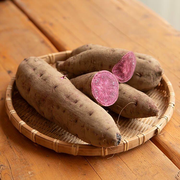 2/2(火)発送分_冨田さんちの自然栽培『紫いも』1kg