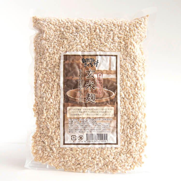 """卑弥呼醤院の""""玄米麹"""" 500g(熊本県産・自然栽培米使用)"""