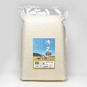 新米【30年度産】清正(ヒノヒカリ) 5kg(農薬不使用歴39年・自然栽培歴6年)