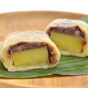 いきなり団子 4個入り(350g程度) 【冷凍】甘〜いさつま芋と粒あんを、もちもち生地で包んだ熊本の銘菓