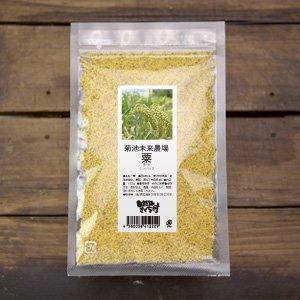粟-もちあわ- 150g(菊池未来農場・自然栽培)