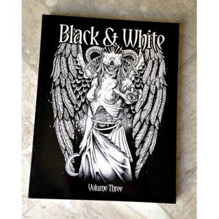 BLACK & WHITE VOLUME THREE ブラック&ホワイト TATTOO VOL3 タトゥーデザイン本