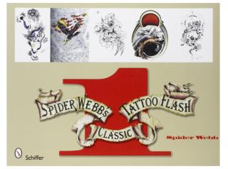 SPIDER WEBB'S 第一巻 スパイダーウェブ アメリカントラディッショナル タトゥー 下絵フラッシュ 本