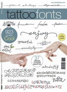 TATTOO FONTS タトゥーフォント 文字 字体 タトゥーデザイン本