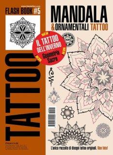 イタリア直輸入 マンダラ 幾何学模様 オーナメントデザイン マンダラ タトゥーデザイン本