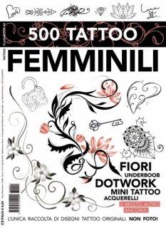 500種類以上 フェミニン 女性 かわいい 綺麗系 タトゥーデザイン本