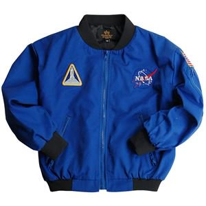 ALPHA INDUSTRIES アルファ キッズ用 NASA ナサ フライトジャケット