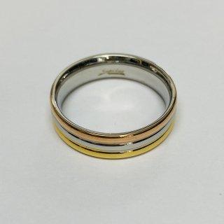 トリプルドームリング 指輪