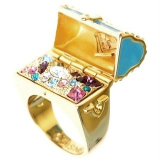 Disney Couture Tinker Bell Treasure Chest Ring ティンカーベル 宝箱リング