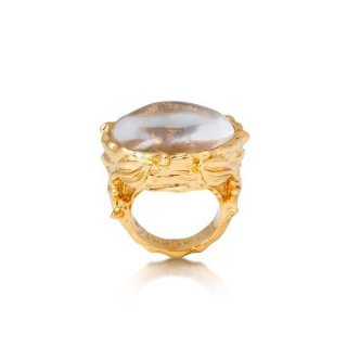 Disney Couture Tinker Bell Glass Case Ring ティンカーベル ガラスケースリング
