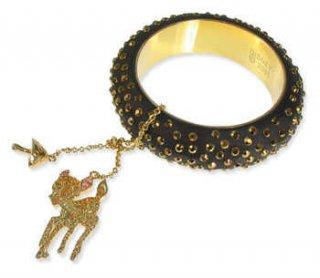 Disney Couture Bambi Charm Bangle バンビ バングル