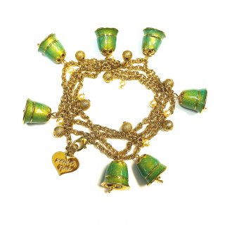 Disney Couture Tinker Bell Charm Bracelets ティンカーベル 鈴チャーム ブレスレット