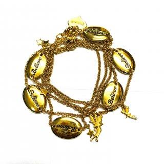 Disney Couture Tinker Bell Charm Bracelets ティンカーベル チャーム&ビリーブプレート ブレスレット