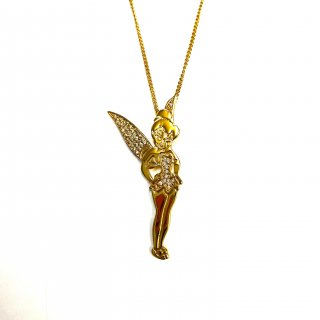 Disney Couture Tinker Bell Necklace ティンカーベル ネックレス 4.3cm×2cm