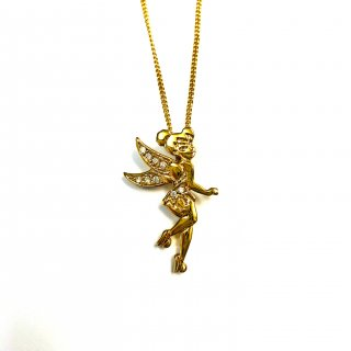 Disney Couture Tinker Bell Necklace ティンカーベル ネックレス 3cm×2cm