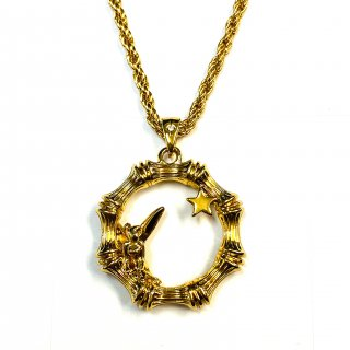 Disney Couture Tinker Bell Hoop Necklace ティンカーベル フープネックレス