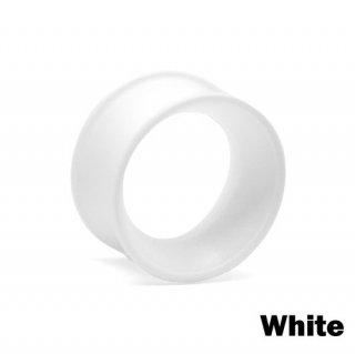 Kaos Softwear カオスソフトウェア スキンアイレット シリコン 着用幅8mm ホワイト