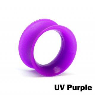 Kaos Softwear カオスソフトウェア スキンアイレット シリコン 着用幅8mm UVパープル