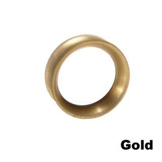 Kaos Softwear カオスソフトウェア スキンアイレット シリコン 着用幅8mm ゴールド