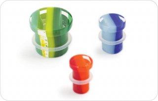 【オーダーメイド】GORILLA GLASS ゴリラグラス ソーダライムグラス製 ライナー シングルフレアプラグ ボディピアス