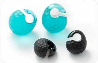【オーダーメイド】Gorilla Glass ゴリラグラス ソーダライムグラス製 ソリッド マルテレ イヤーウェイト ボディピアス