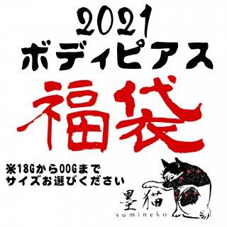 【2021福袋】サイズ選べる!ボディピアス福袋