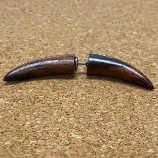 木製 バッファロー ウッドピアス FW006