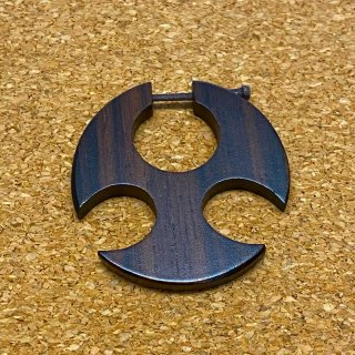 木製 ウッドピアス CC080