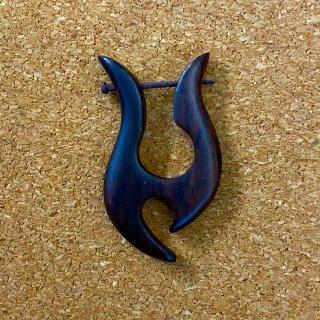木製 ウッドピアス CC095