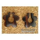 木製 ウッドピアス CC096