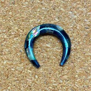 ホール拡張器 ホーン 角製 エクスパンダー バッファロー型 貝殻ピース付き