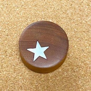 ソバウッド製 スターのワンポイント ダブルフレア プラグ