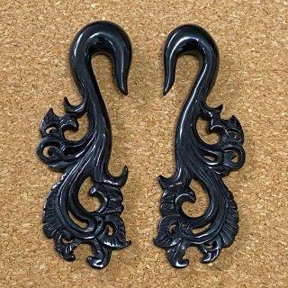 角製 ホーン 手彫り 彫像型 ボディピアス