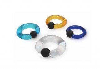 【オーダーメイド】Gorilla Glass ゴリラグラス ソーダライムグラス製キャプティブビーズリング ボディピアス