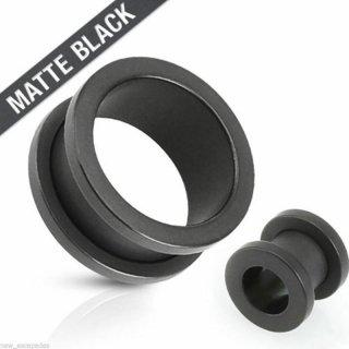 艶なし黒加工 マットブラック ステンレス スクリュー ダブルフレア トンネル