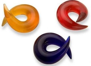 【オーダーメイド】GORILLA GLASS ゴリラグラス ソーダライムグラス製 バーブ ボディピアス