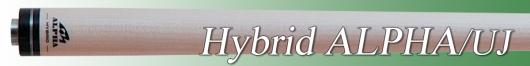 ビリヤードシャフト [メッヅ-MEZZ] Hybrid ALPHA UJ