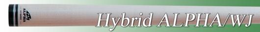 ビリヤードシャフト [メッヅ-MEZZ] Hybrid ALPHA WJ